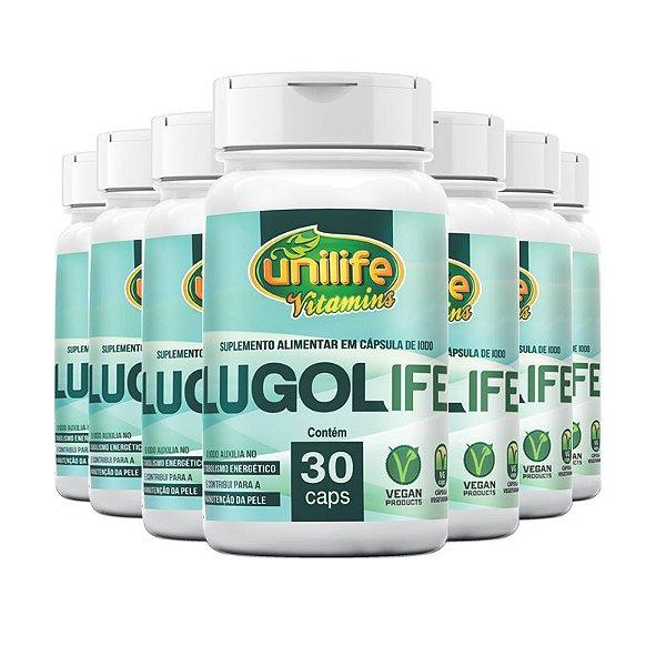 Kit 5 Lugolife Suplemento alimentar de Iodo Unilife 30 cápsulas
