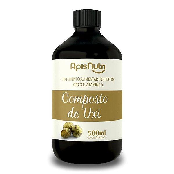 Composto de Uxi Zinco e Vitamina A Apisnutri 500ml