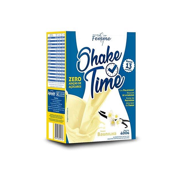 Shake Time Substituto de Refeição Apisnutri 400g Baunilha