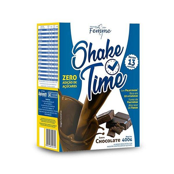Shake Time Substituto de Refeição Apisnutri 400g Chocolate