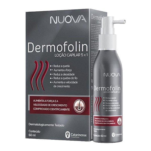 Nuova Dermofolin Loção Capilar 5 em 1 Catarinense 60ml