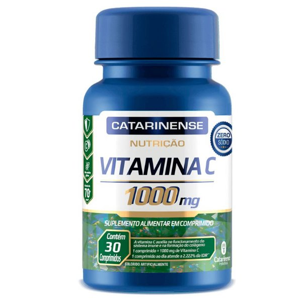 Vitamina C Catarinense 1000mg 30 comprimidos