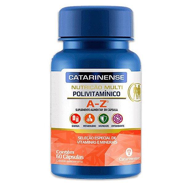 Polivitamínico A-Z Catarinense 60 cápsulas