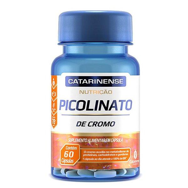 Picolinato de Cromo Catarinense Pharma 60 cápsulas