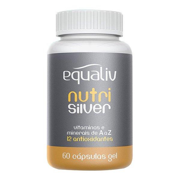 Nutri Silver Polivitamínico de A a Z Equaliv 60 cápsulas gel