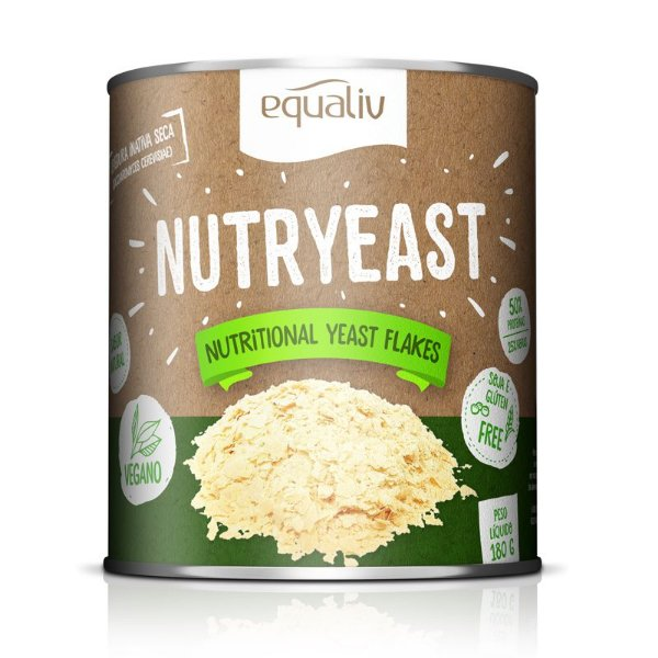 Nutryeast Nutritional Yeast Flakes Equaliv 180g