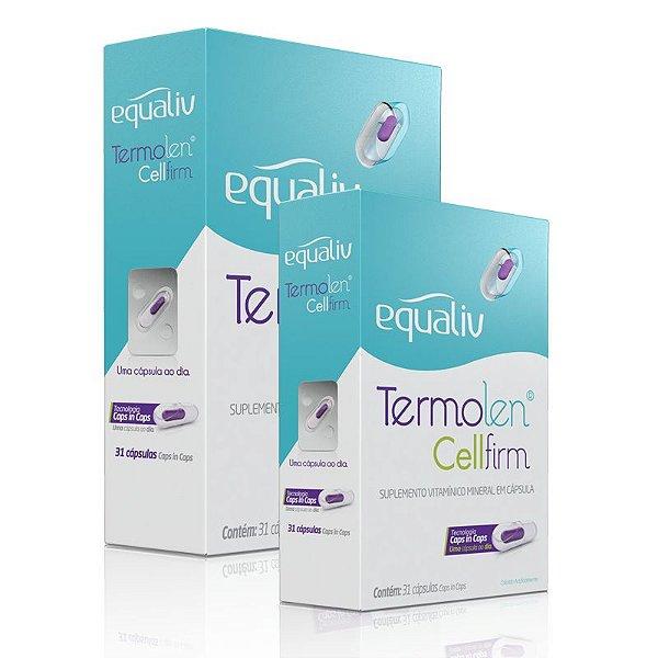 Kit 2 Termolen Cellfirm Equaliv 31 cápsulas caps in caps
