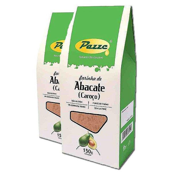 Kit 2 Farinha de Caroço de Abacate Pazze 150g