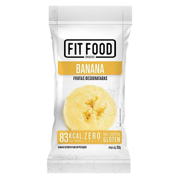 Banana Snack Desidratada Fit Food 30g