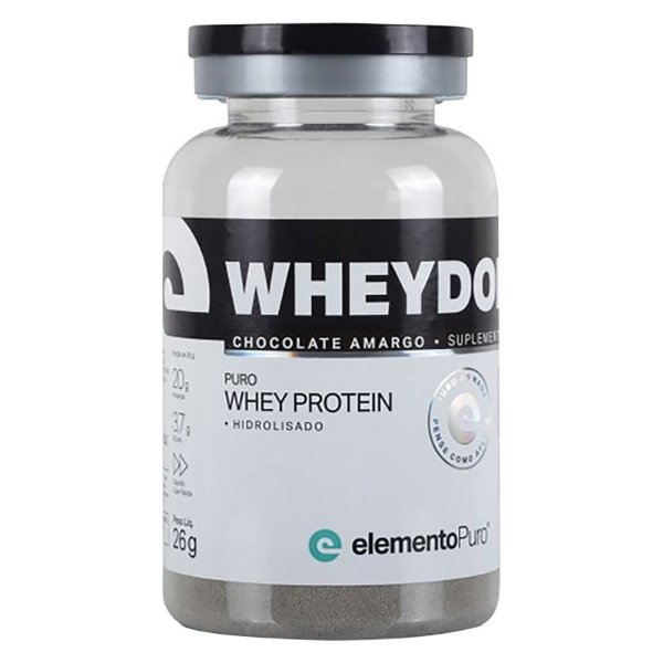 Wheydop HIDRO Whey Protein Monodose Elemento Puro 27g Chocolate Amargo