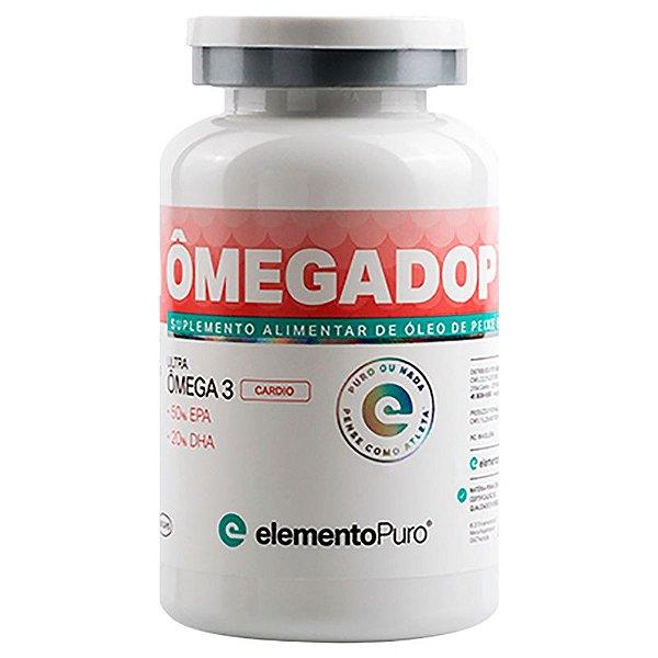 Ômegadop Omega 3 Cardio Elemento Puro 60 Cápsulas