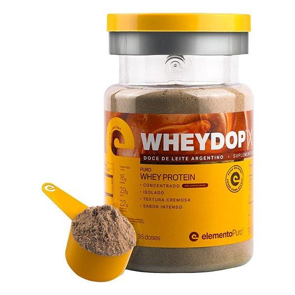 Wheydop X Whey Protein Elemento Puro Doce de Leite Argentino 900g