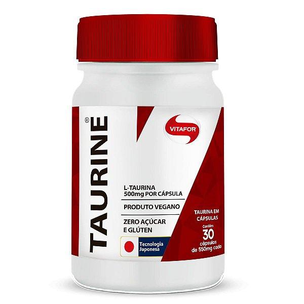 Taurine 500mg Vitafor 30 cápsulas