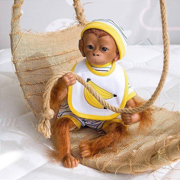 Bebê Kong Macaco Reborn