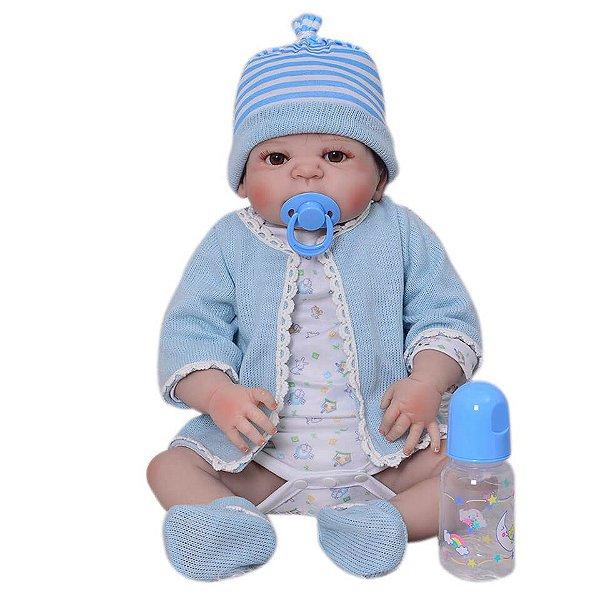 Bebê Reborn Mickey - Pode Dar Banho
