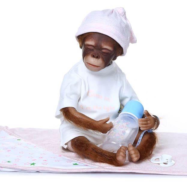 Bebê Sissi Macaco Reborn