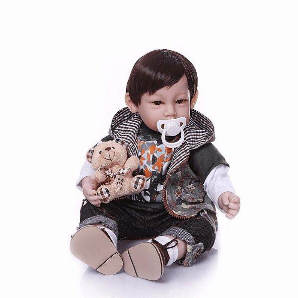 Bebê Reborn Dominic - Corpo de Pano