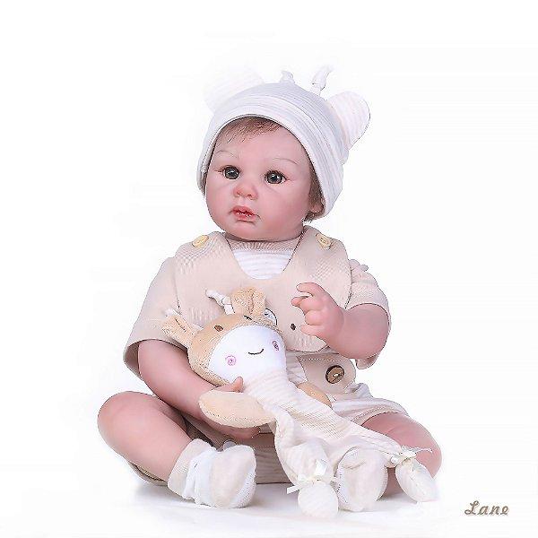 Bebê Reborn Lane Hiper Realista