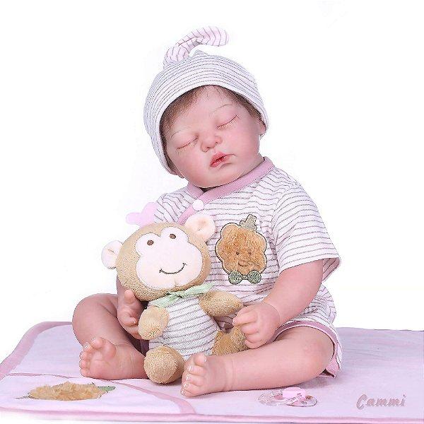 Bebê Reborn Cammi - Hiper Realista