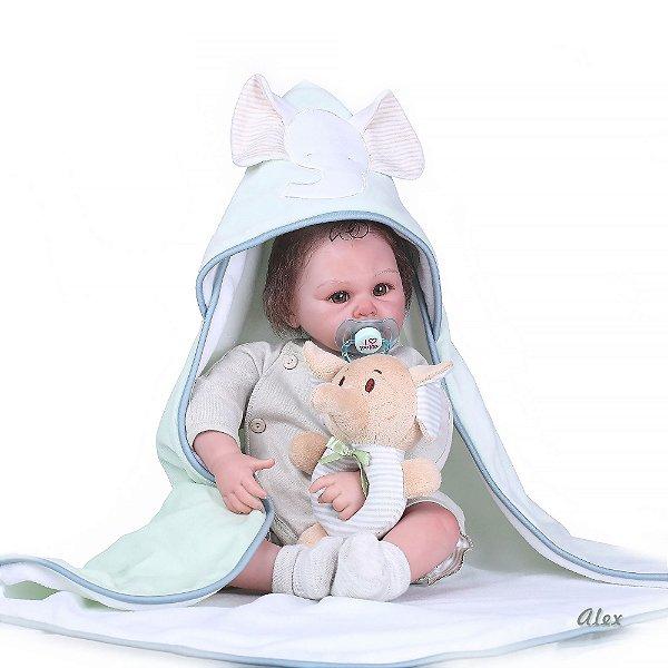Bebê Reborn Alex Hiper Realista