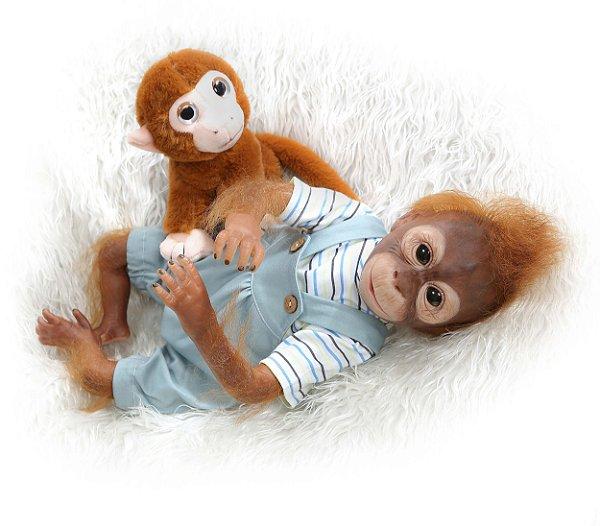 Bebê Donkey Reborn Macaco