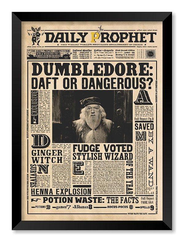 Quadro Albus Dumbledore | Harry Potter