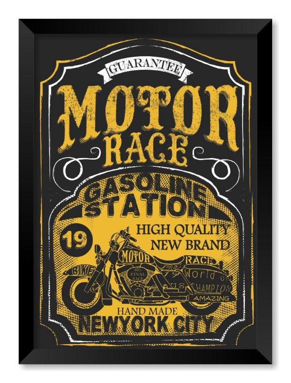 Quadro Motor Race