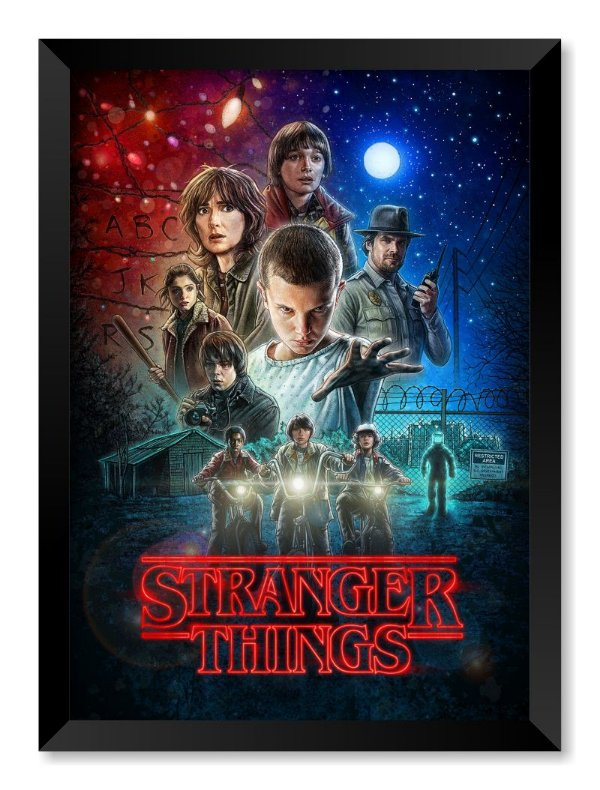 Quadro Stranger Things