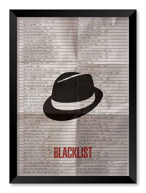 Quadro The Blacklist