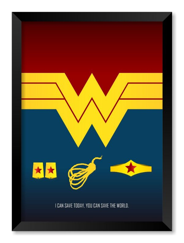 Quadro Wonder Woman