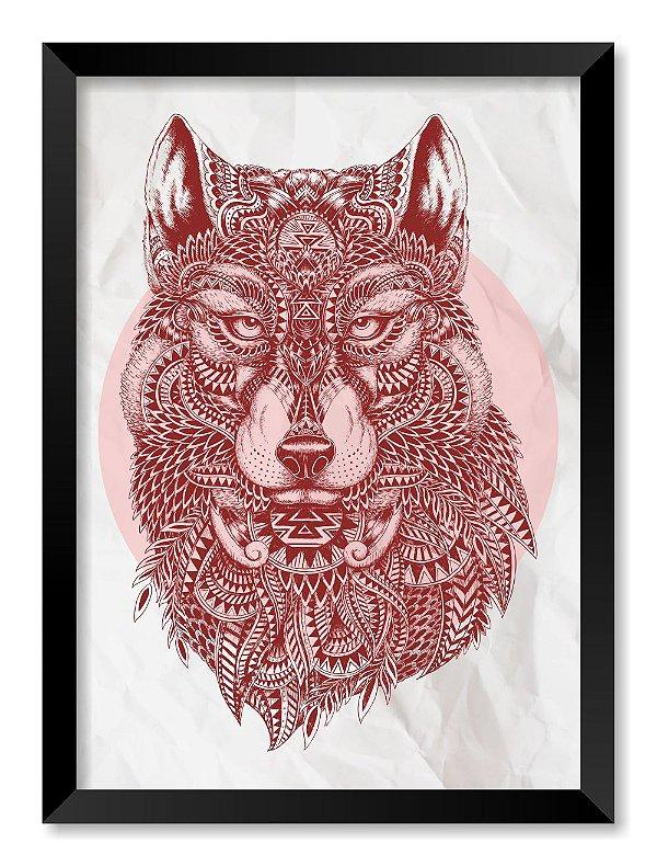 Quadro Lobo Maori