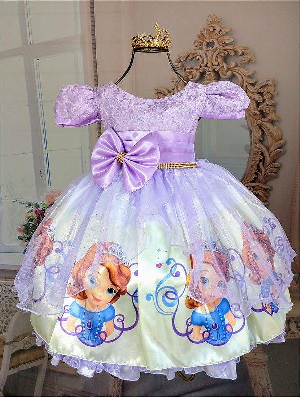 6716592c6 Vestido infantil Princesa Sofia 325 - Festidos - Sua festa , Nosso ...