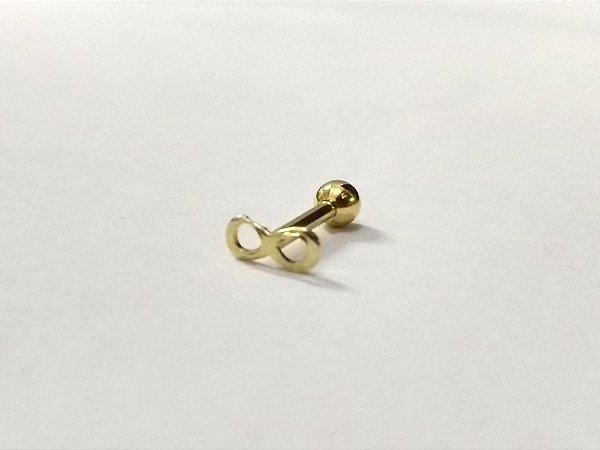 Piercing para Tragus/Helix -  - Folheado a Ouro