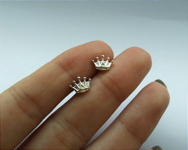 Piercing para Tragus/Helix - Coroa em Prata ou Folheado a Ouro