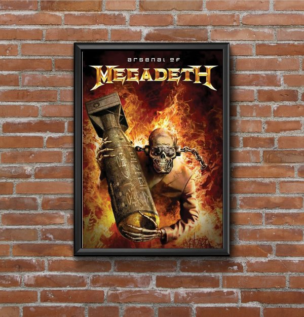 Quadro Megadeth