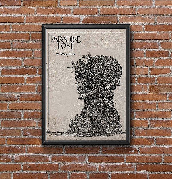 Quadro Placa Decorativo Paradise Lost