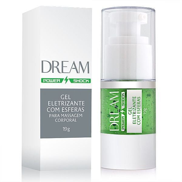 Dream Power Shock - Gel Eletrizante com Esferas - 19g (AE-CO263)