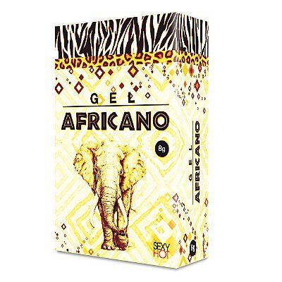 Gel Africano 8 gramas bisnaga (para Sexo Anal) - (AE-CO211)