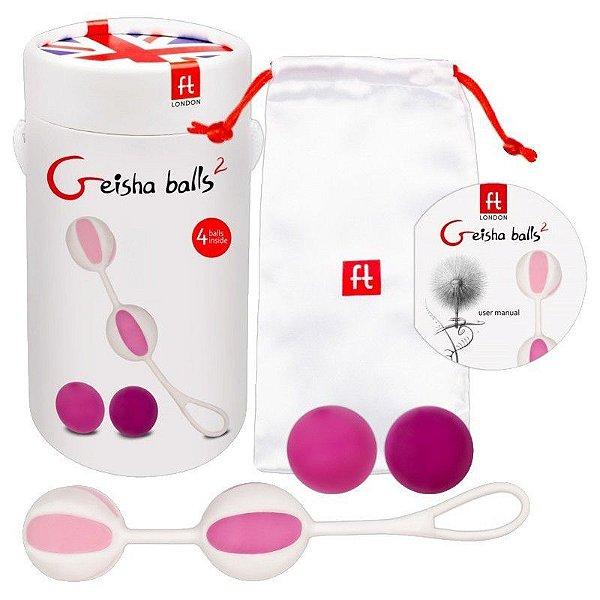 Geisha Balls 2 - Pink (AE-FT202)