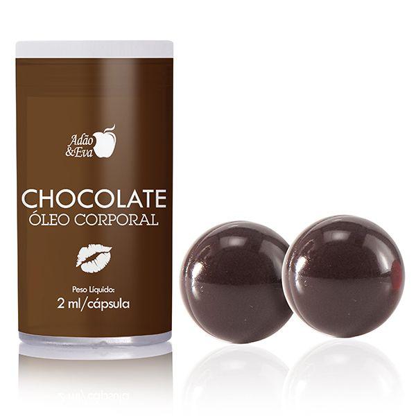 Cápsula Beijável Chocolate - 2 unidades (AE-CO218)