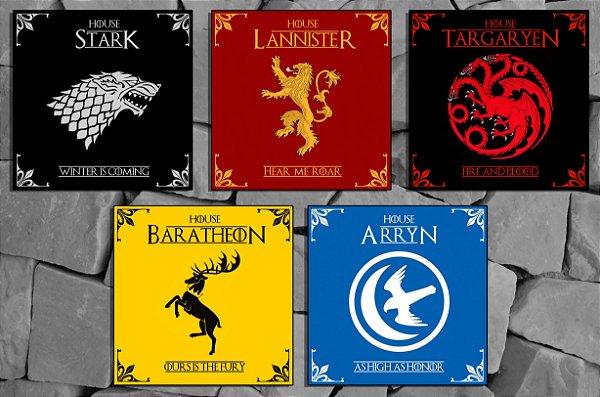 Mosaico Game of Thrones - (peças 10x10cm)