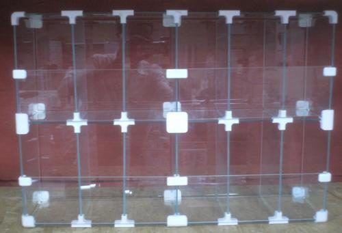 BALEIRO VIDRO MODULADO 15x40x60cm - 12 MÓDULOS