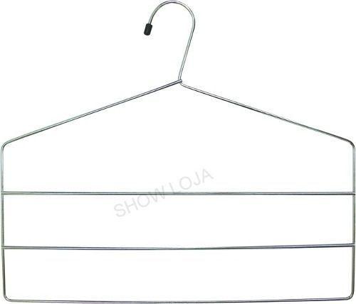 Cabide Triplo Para Calças- Cromado