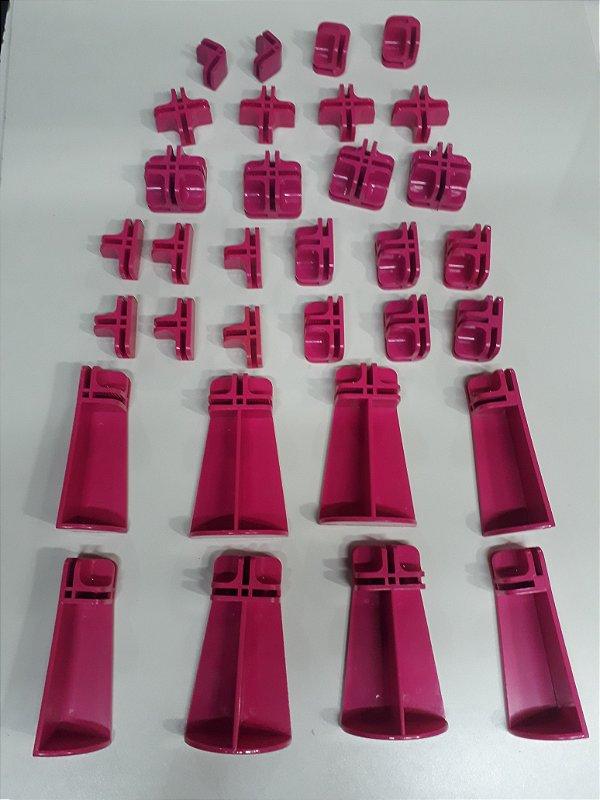 Kit conectivos  para balcão 09 módulos
