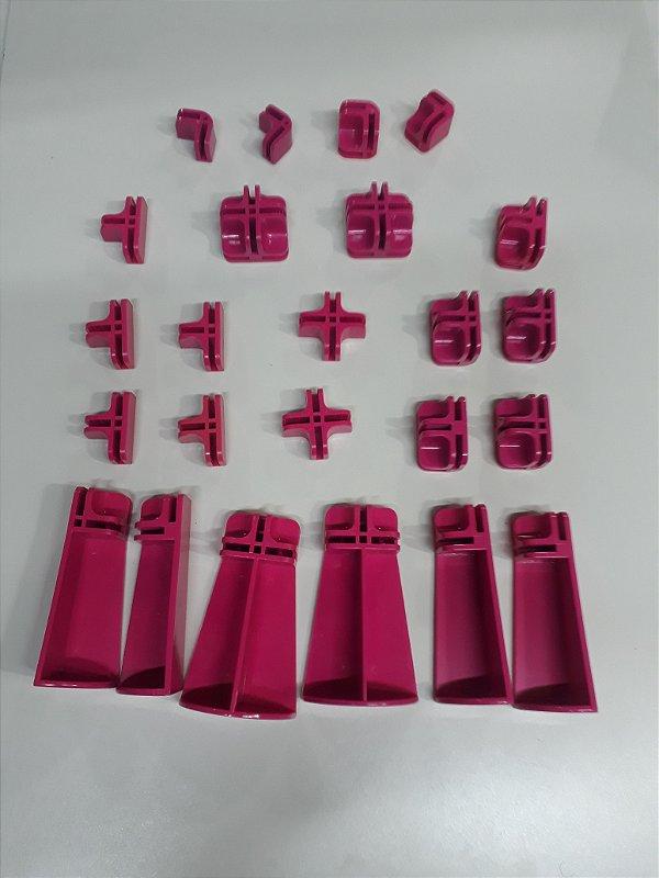 Kit conectivos para balcão 06 módulos