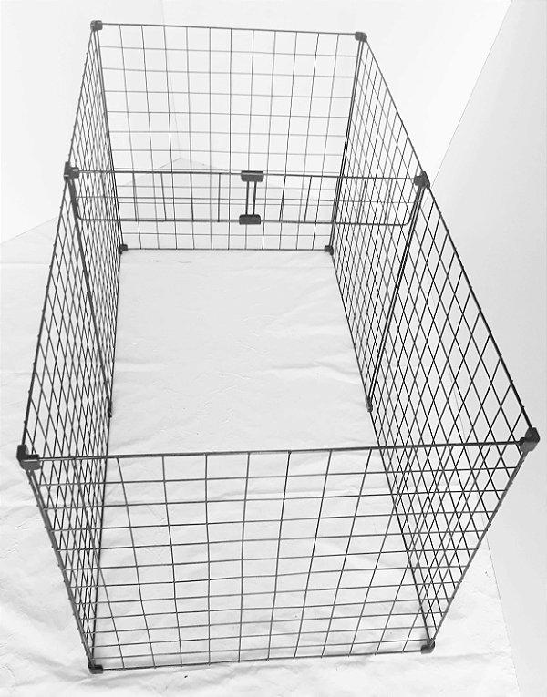 Cercado Para Filhotes Cachorros Pequeno Porte 60 x 60 x 120