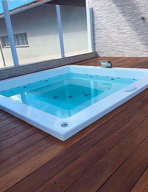 Spa Encanto Azul 1.300 litros - 6 pessoas - Diazul Piscinas