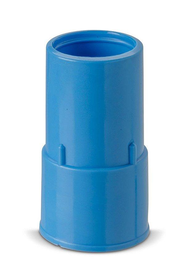 """Ponteira para Mangueira 1,5"""" (38mm) Azul - Alpha Flex"""