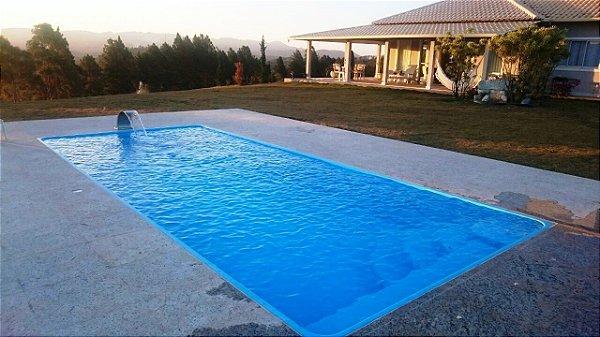 piscina de fibra domingo azul 730 m x 330 m x 1 - Piscinas De Fibra