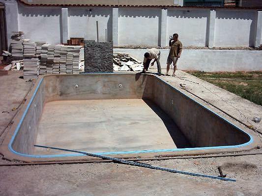 Serviço de Mão de obra para piscina vinil 8,0 x 4,0 x 1,40